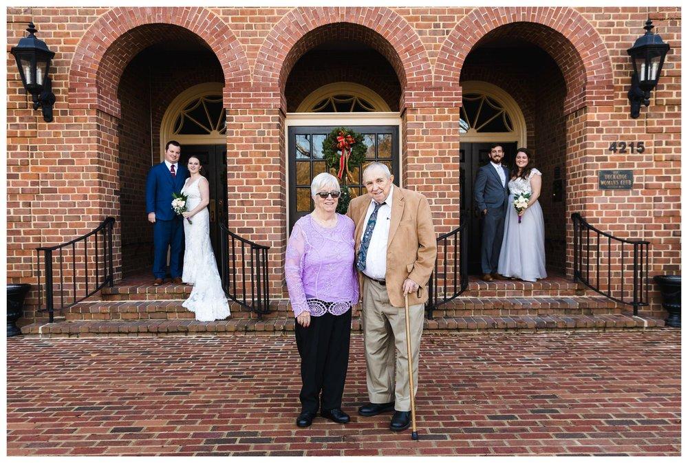 Kaylyn Wedding Surprise Grandparents RVA Charlottesville Photographer Tuckahoe Women's Club Richmond Virginia 2 of 27