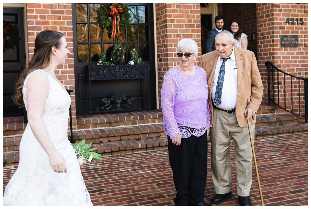 Kaylyn Wedding Surprise Grandparents RVA Charlottesville Photographer Tuckahoe Women's Club Richmond Virginia 3 of 27