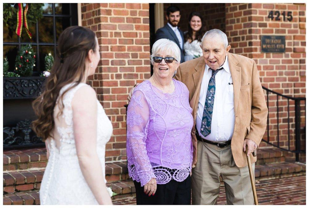 Kaylyn Wedding Surprise Grandparents RVA Charlottesville Photographer Tuckahoe Women's Club Richmond Virginia 4 of 27
