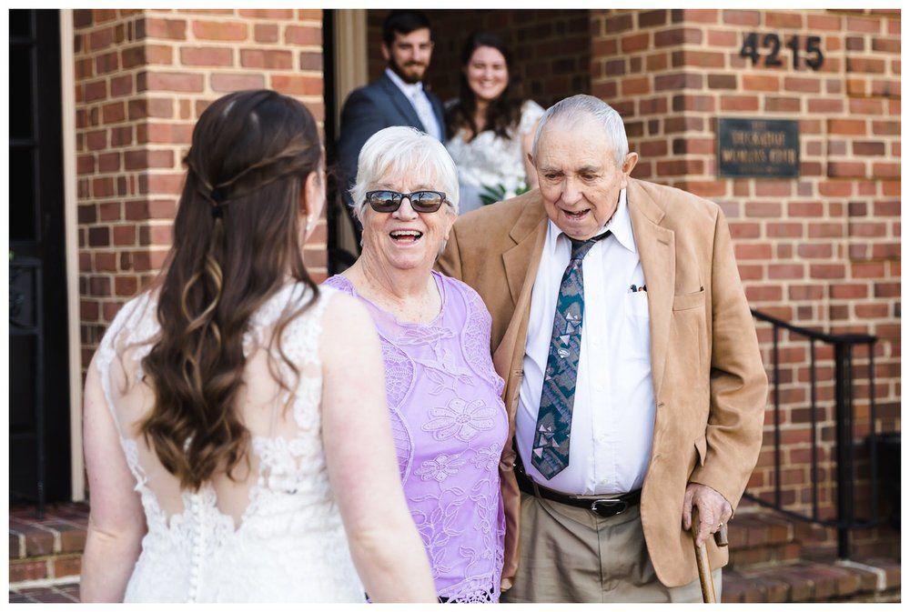 Kaylyn Wedding Surprise Grandparents RVA Charlottesville Photographer Tuckahoe Women's Club Richmond Virginia 5 of 27