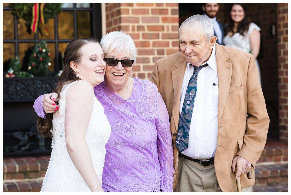 Kaylyn Wedding Surprise Grandparents RVA Charlottesville Photographer Tuckahoe Women's Club Richmond Virginia 6 of 27