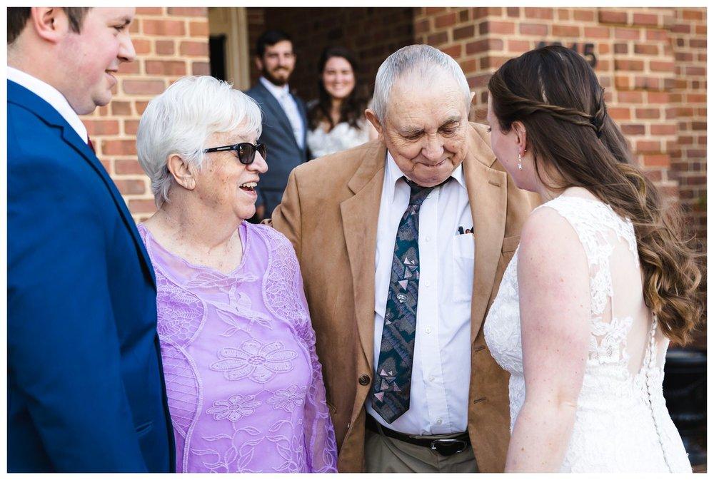 Kaylyn Wedding Surprise Grandparents RVA Charlottesville Photographer Tuckahoe Women's Club Richmond Virginia 8 of 27