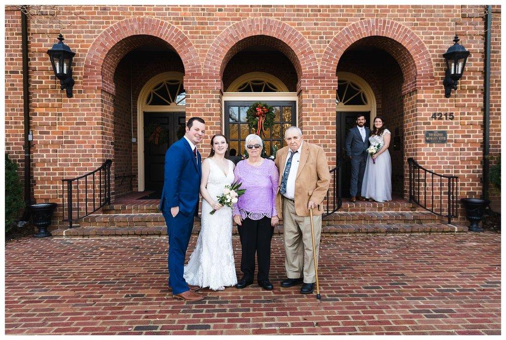 Kaylyn Wedding Surprise Grandparents RVA Charlottesville Photographer Tuckahoe Women's Club Richmond Virginia 9 of 27