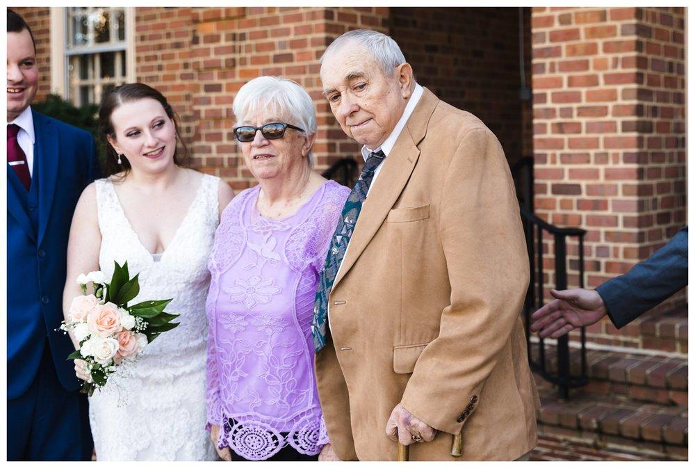 Kaylyn Wedding Surprise Grandparents RVA Charlottesville Photographer Tuckahoe Women's Club Richmond Virginia 11 of 27