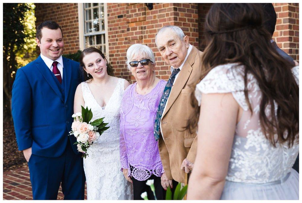 Kaylyn Wedding Surprise Grandparents RVA Charlottesville Photographer Tuckahoe Women's Club Richmond Virginia 12 of 27