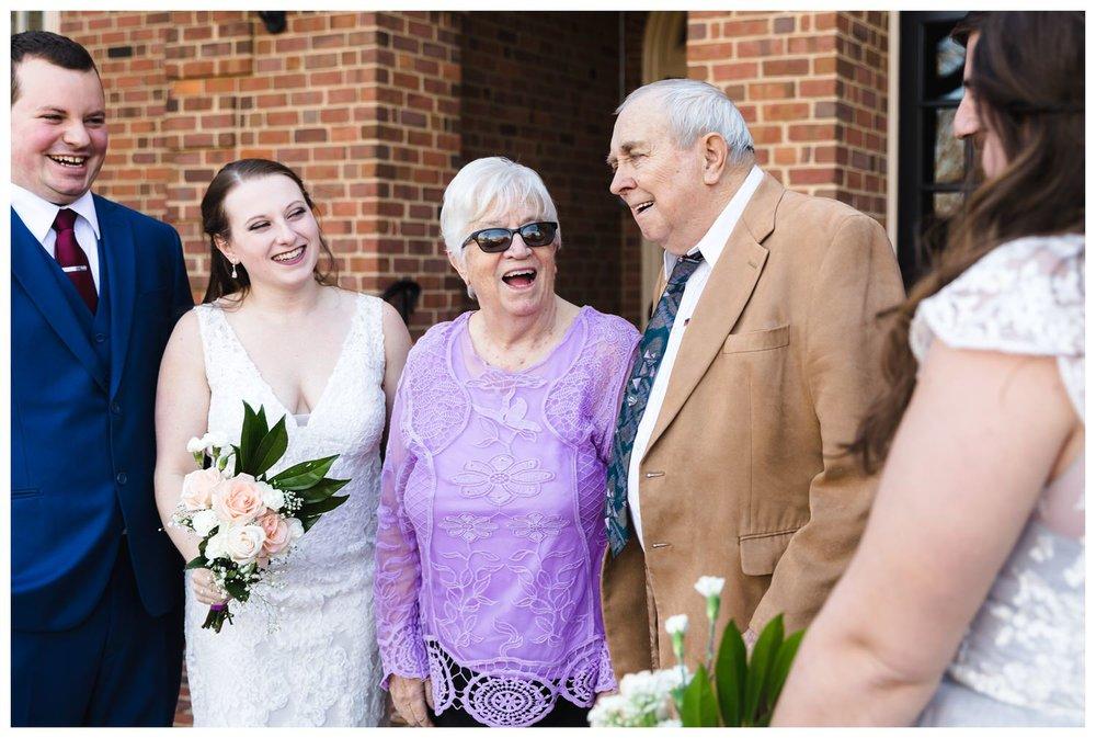 Kaylyn Wedding Surprise Grandparents RVA Charlottesville Photographer Tuckahoe Women's Club Richmond Virginia 13 of 27