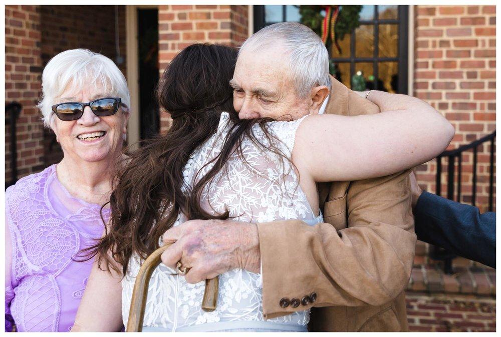 Kaylyn Wedding Surprise Grandparents RVA Charlottesville Photographer Tuckahoe Women's Club Richmond Virginia 16 of 27
