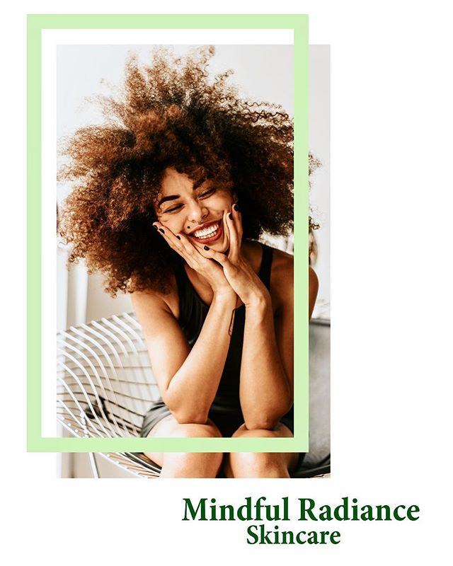 No caption necessary. That smile says it all!  Mindful Radiance Skin Care