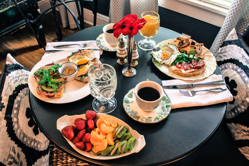 A fresh and healthy start to your day... -