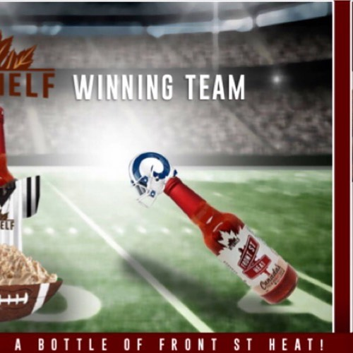 ARE YOU READY TO WIN - CUZ ITS CONTEST TIME!! . Tell us who your #topshelf team is and your guess of the final score. Winner will receive a bottle of our signature FRONT ST HEAT hot sauce. Comment below to enter 🙌🏻 . Winner will be announced after the game this Sunday #gameon 🏈 . #contest #win #dip #topshelf #canada #sarnia #gameday #hotsauce #football #biggame #camlachie #london #windsor #corunna