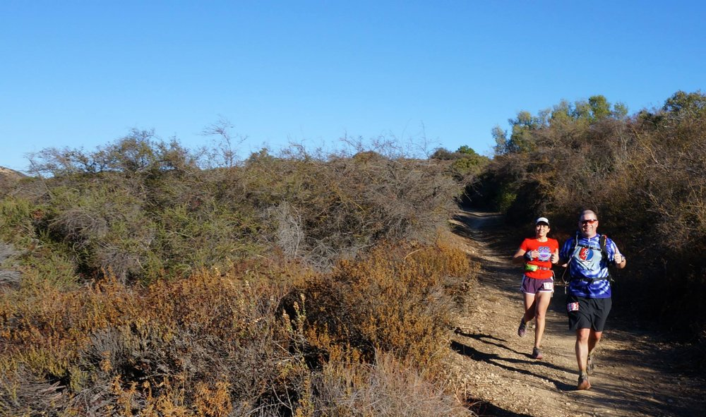 1st-50-mile-mountain-race-sob-50-malibu-ca-feb-2014-ran-the-entire-thing-with-scott-kummer