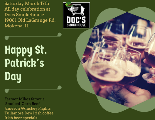 Saturday March 17th All day celebration at Docs Smokehouse.png