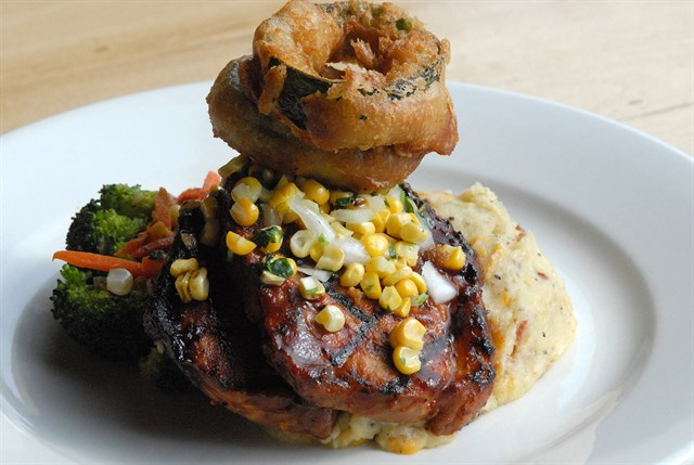 2/$45 Deal - Beer Dinner for Two: Prix Fixe Menu that includes an appetizer, entree and dessert, each paired with a different craft beer brewed in house