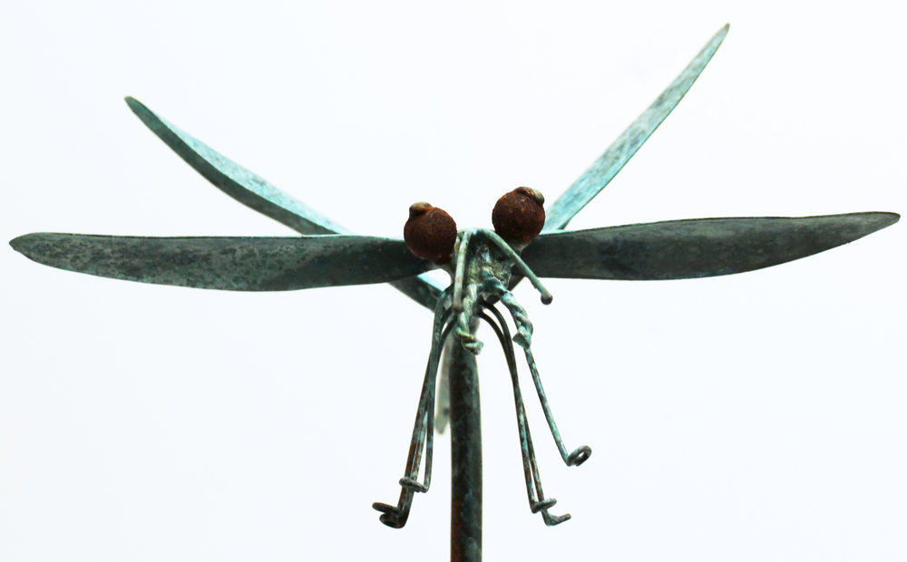 Small Dragonfly on Rod
