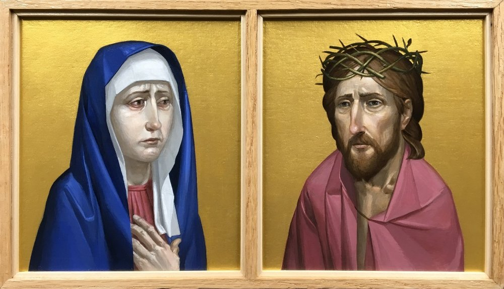 Our Lady of Sorrows and Man of Sorrows