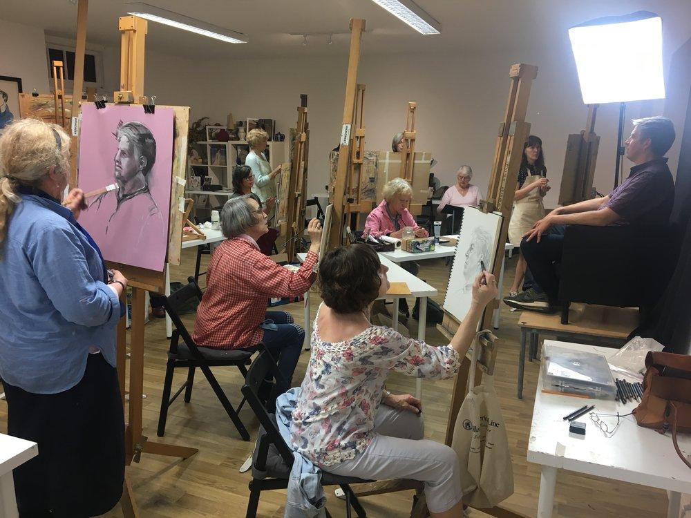 Portrait Night - June no evening classes due to Bucks Art WeeksWednesday 10 JulyWednesday 7th August