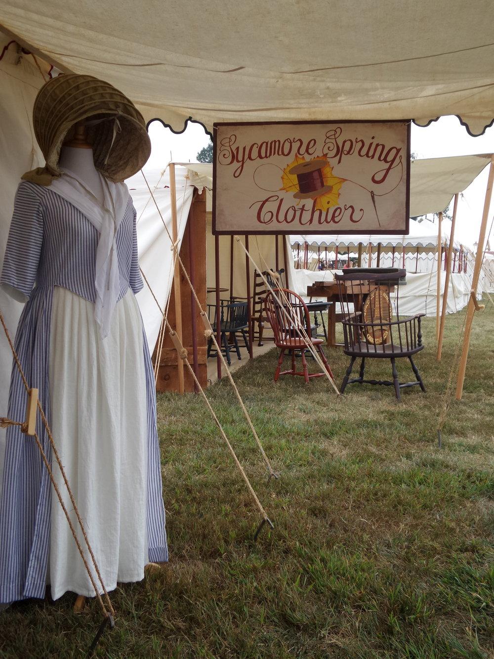 Mt. Vernon Colonial Fair through the years. -