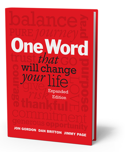 One word book cover