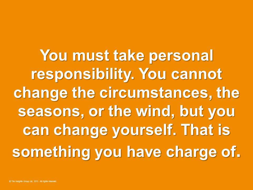 change yourself