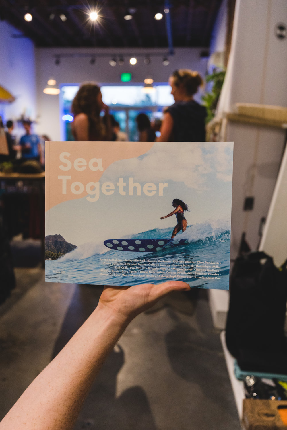 Issue 001 of Sea Together! :) Photo by Tyler Feague. Photo by Tyler Feague.
