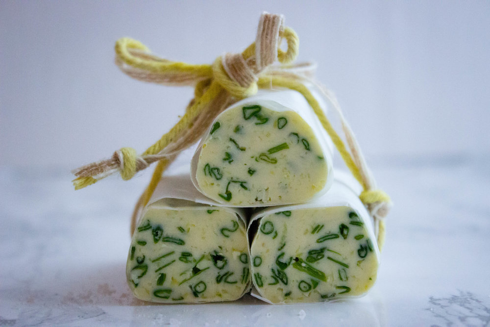 Homemade Herb Butter - 4 Person - 20 Minutes plus 1 Hour Freezing