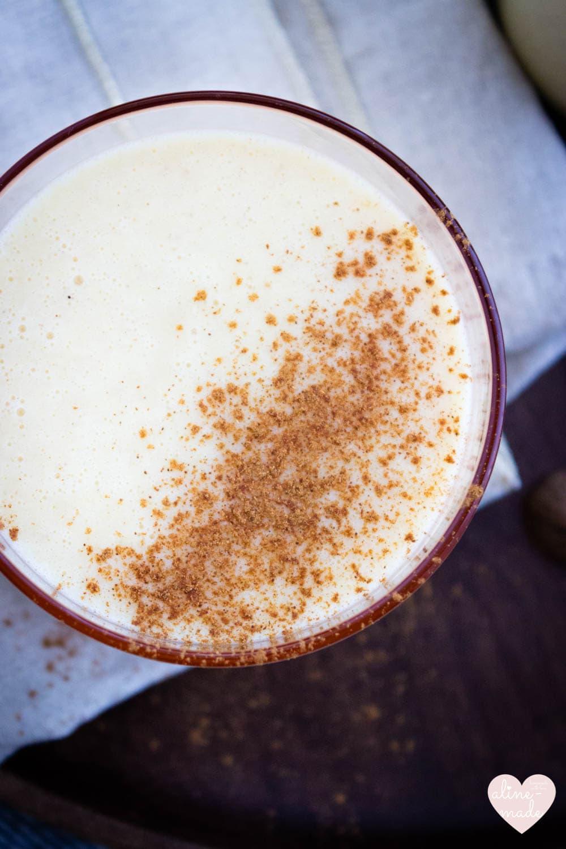 Orange Buttermilk Drink with Cinnamon - 1 Person - 10 Minutes