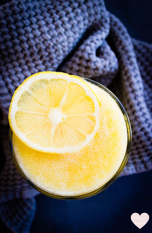 Mango Lemonade - Simply, healthy, delicious