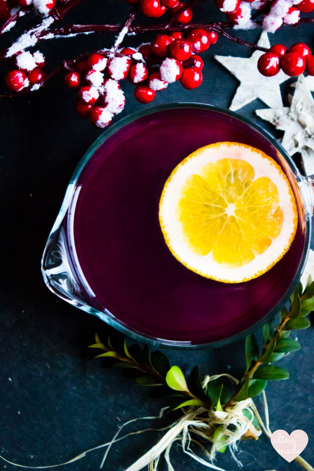 Ginger Mulled Wine - Spiced with Christmas Spices and Ginger!