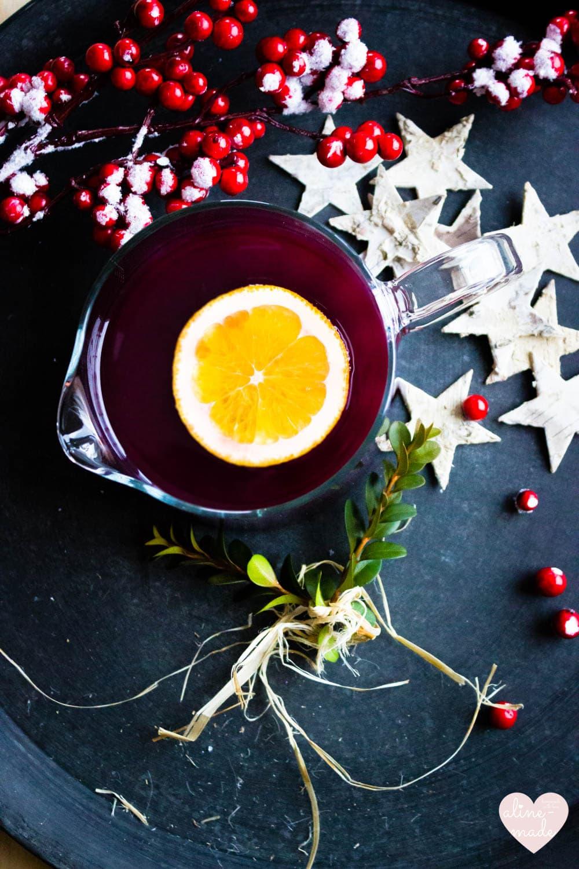 Ginger Mulled Wine Recipe - Serves 4 (0.5 Liter) - 30 Minutes