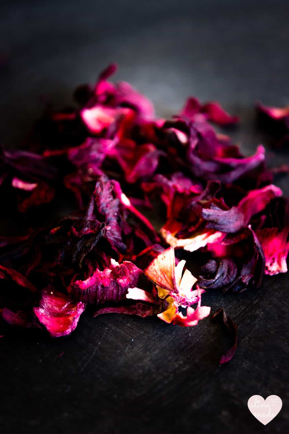 Flor de Jamaica - Dried Hibiscus Flowers   Have an intense pink color & are very beautiful!