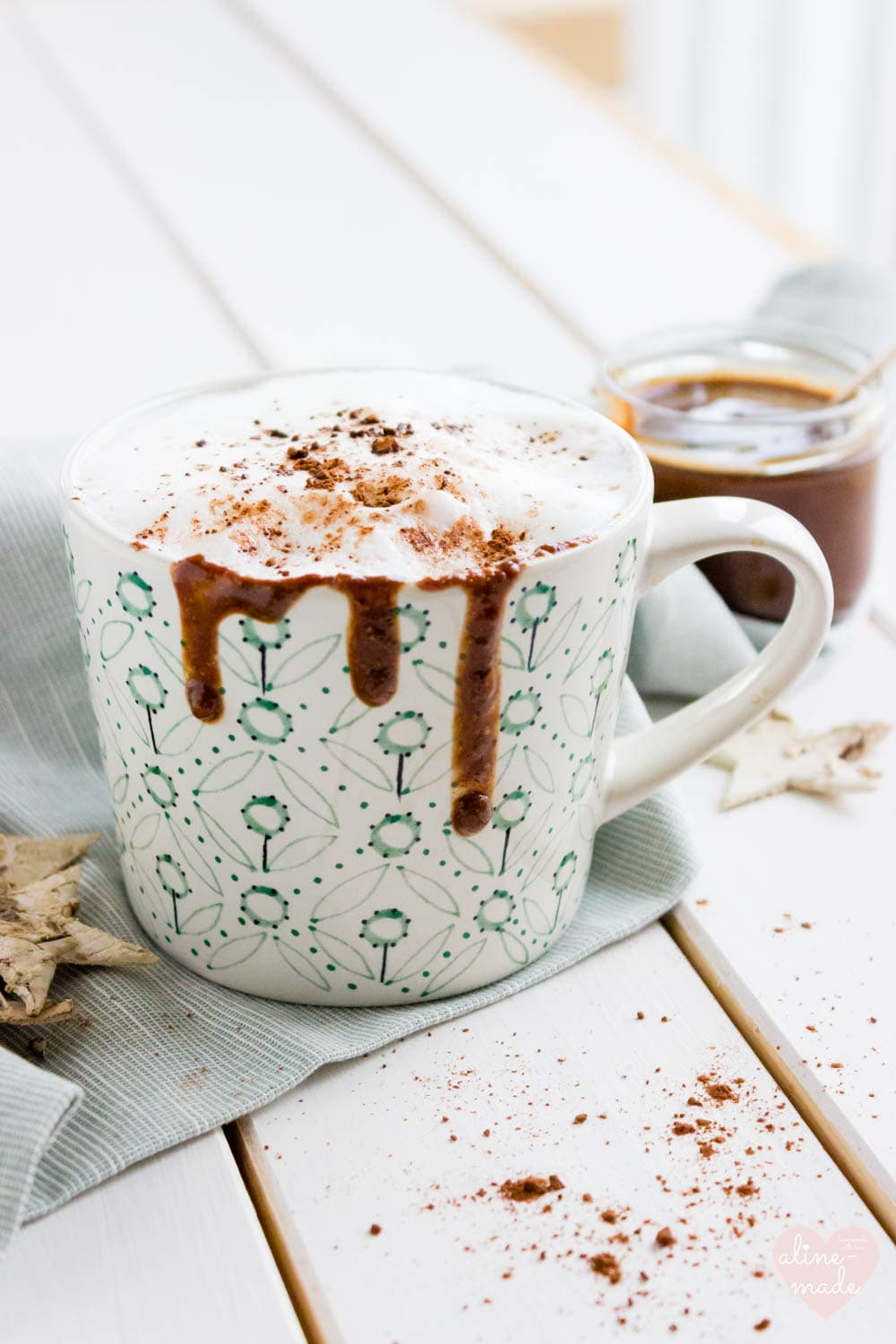 Nutella Cappuccino - Perfect for all coffee and chocolate lover!