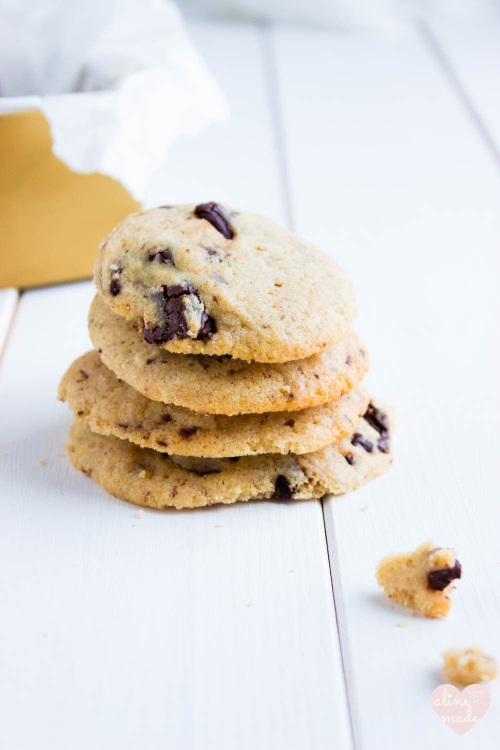 Pecan Butter Chocolate Chip Cookies - Serves 20 Cookies - Total Time 35 Minutes