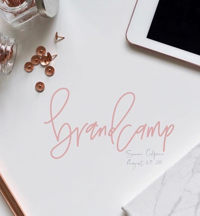 Oohhh la la! So stoked that I was able to make this logo for the wonderful ladies at @brandcamptetreat 🤩⠀ .⠀ .⠀ .⠀ Plumeandpulp.com⠀ #practicemakesprogress #handmade #handwritten #handlettered #handmadefont #dailytype #goodtype #brushcalligraphy #typeinspired #calligraphy #caligraphymasters #handletteringdaily #handletteringpractice #illustrations #letteringcommunity #craftqueen👑 #losangelesartist #craftaholic #paperphile  #handcraftedinlosangeles #handletteringdaily #letteringtribe #handcraftedcards #plumeandpulp #losangelescalligrapher⠀ ⠀