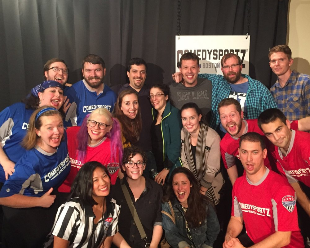 Bachelor & Bachelorette celebration at ComedySportz!