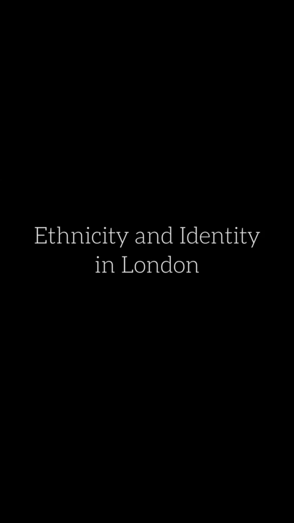 A documentary I made last year. Huge Thank you to The Somali Mother and Child Welfare Organisation