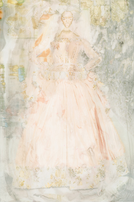 "Amanda Clyne, ""Dior, Erased"", erased photograph, 2013"