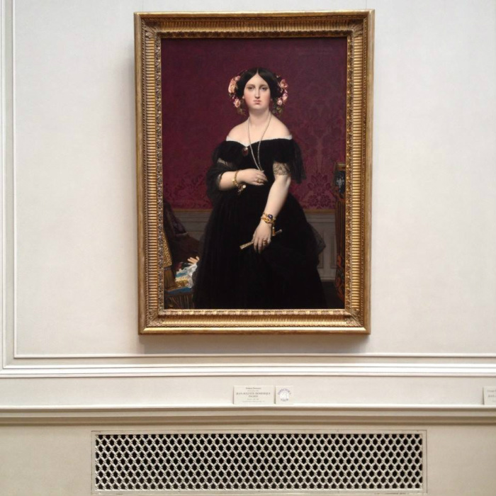 Ingres at the National Gallery, Washington DC, 2014