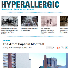 Hyperallergic art fair review April 26, 2013