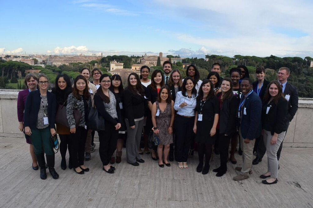 Food Security Class in Rome (2015)
