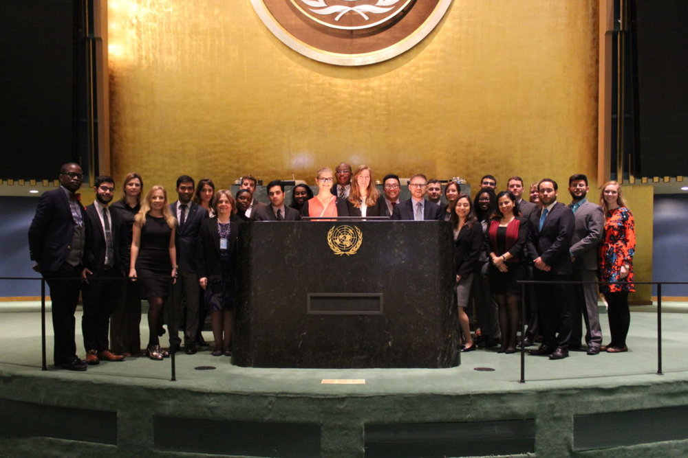 United Nations: Managing for Change Class at the UN General Assembly (2017)