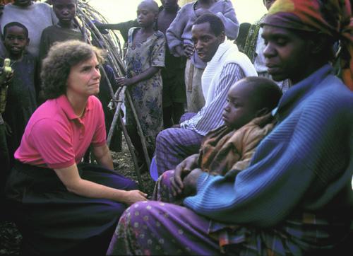Rwandan refugee camp near Goma, Zaire (1994)