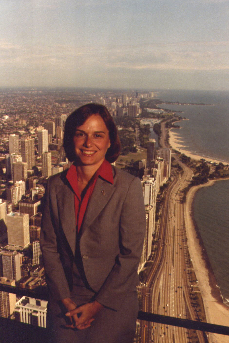 Candidate for U.S. House of Representatives IL-9 in Chicago (1982)