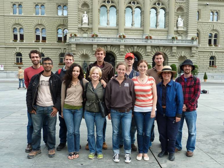 Maxwell International Organizations class in Berne (2012)