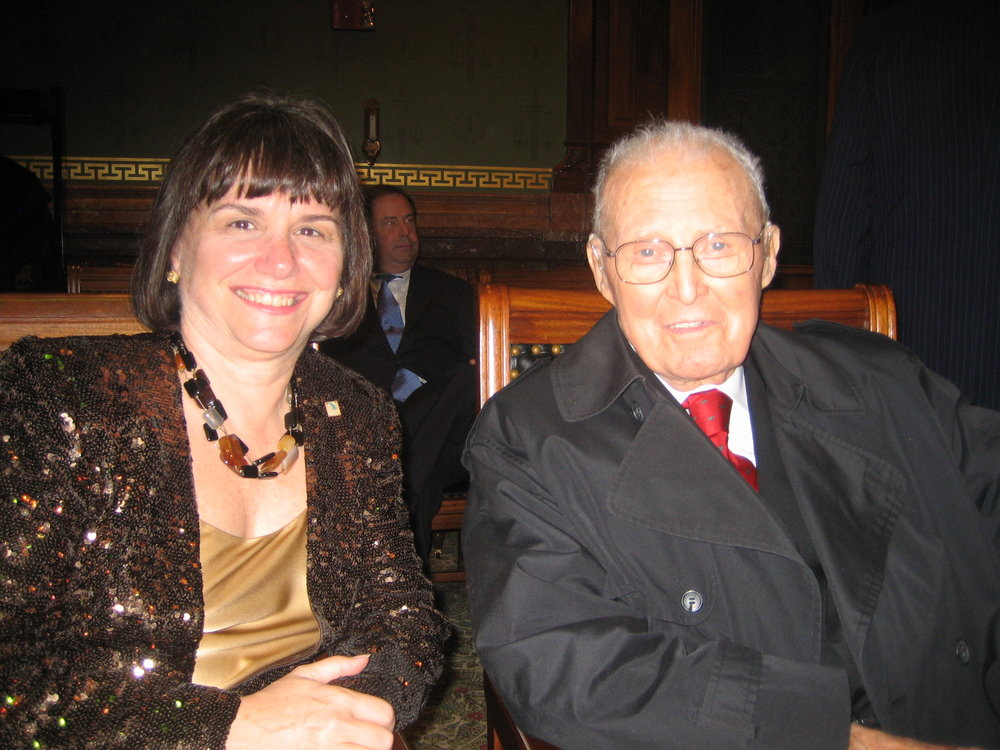 World Food Prize event  With Dr Norman Borlaug (2007)