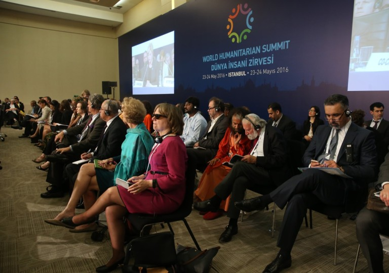 Catherine Bertini at World Humanitarian Summit (2016)
