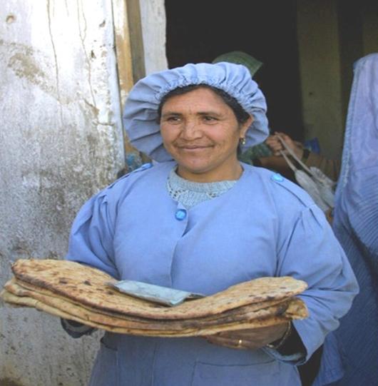 Baker in Kabul Afghanistan (2002)