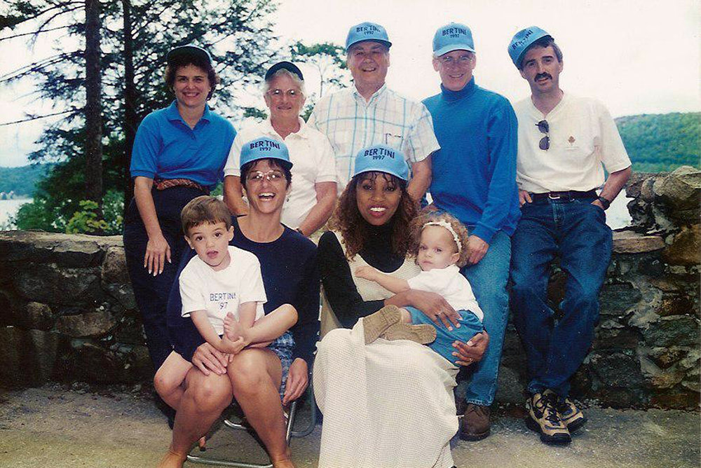 Bertini Family including sister-in-law, nephew and niece (1997)