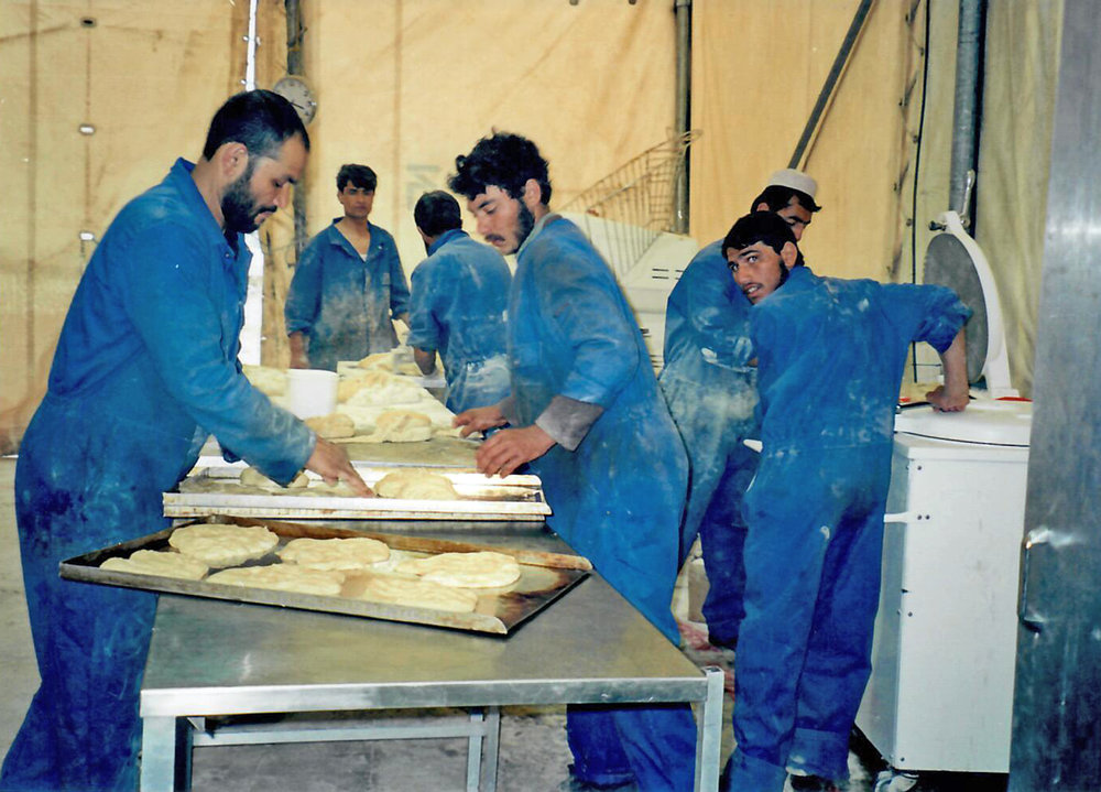 Bakery in Herat IDP Camp, Afghanistan (2002)