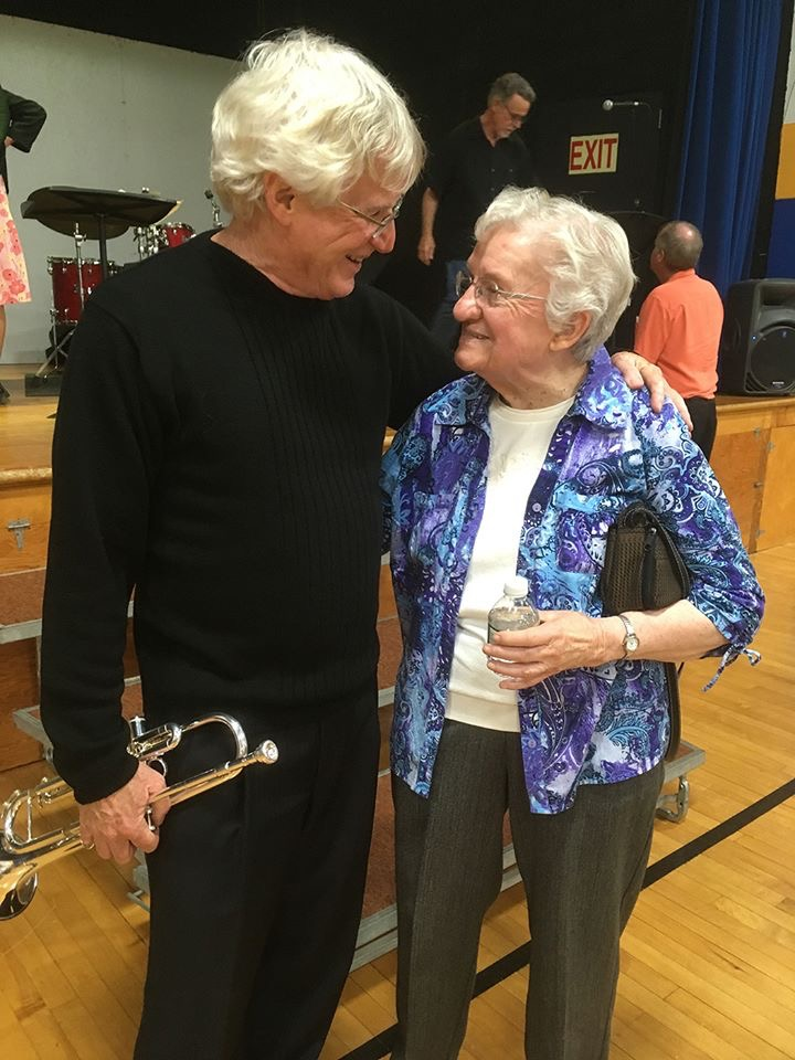Charlie Bertini & Sister Harriet Hamilton Celebrating 30 Years of Student Music Scholarships
