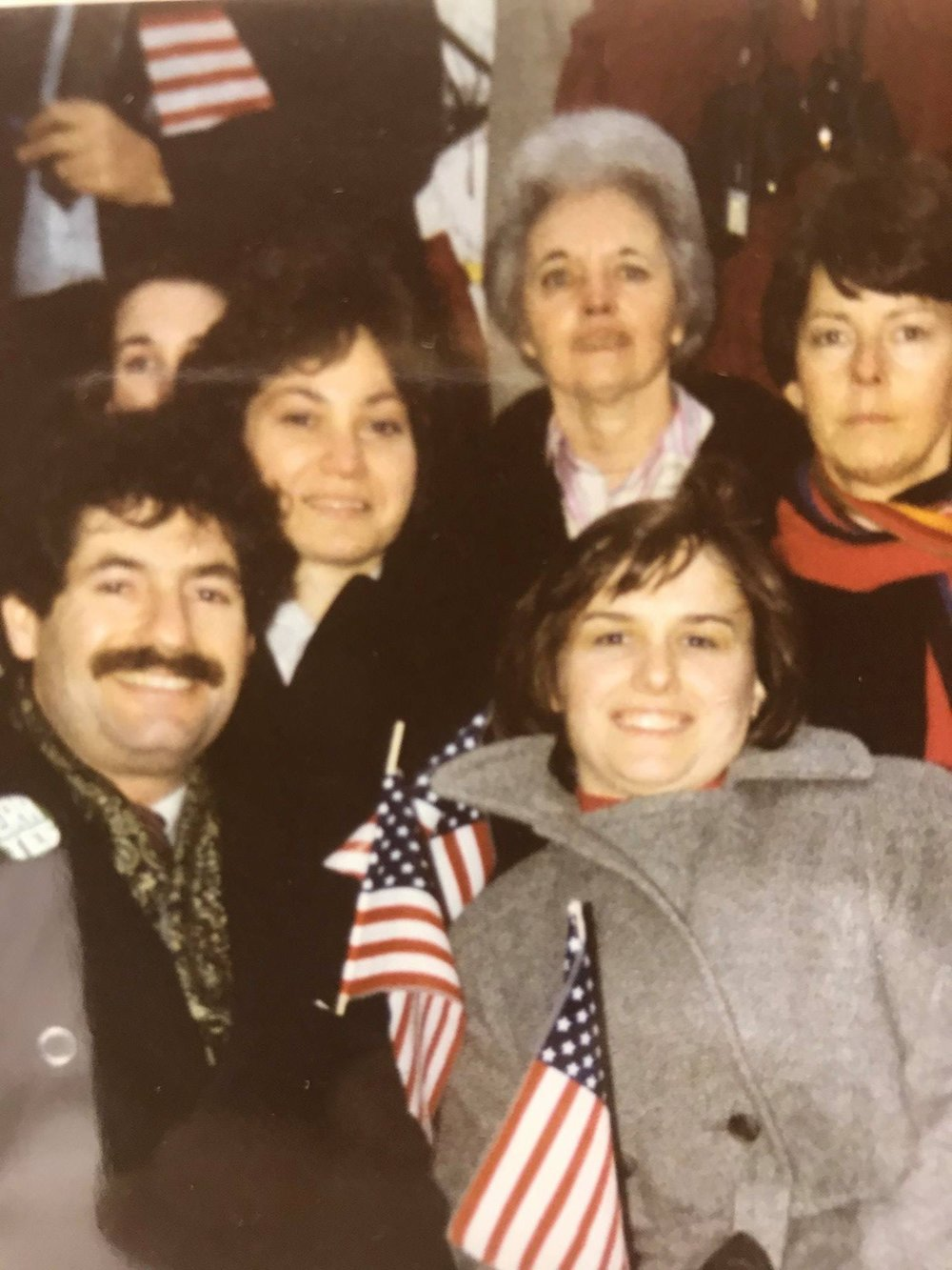 Presidential Inauguration – Joseph Forstadt, Betsy Ring, Connie Whitton, Barbara Wortley, Catherine Bertini and Nancy Thompson (1981)